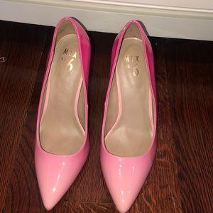 Pink ombré heels